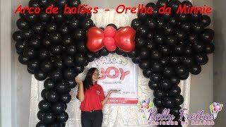 Arco de balões - Orelha da Minnie - Balões Joy