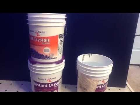 DIY How To Mix Saltwater At Home