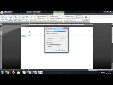 How to Change Page Number Styles in Microsoft Word : Tech Niche