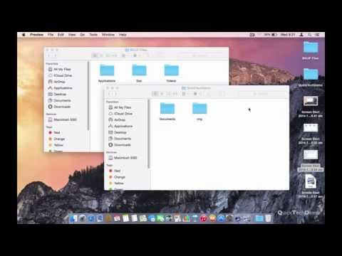 Taking Screenshots in Mac OS X Yosemite