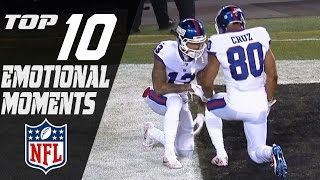 Top 10 Emotional Moments of the 2016 Season   NFL Highlights