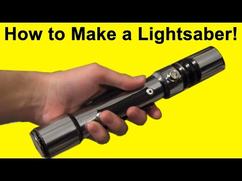 How to Make a Lightsaber (DIY)