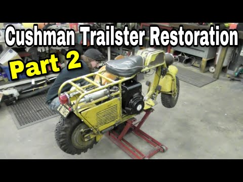 Taryl's Builds - The Cushman Trailster Part 2