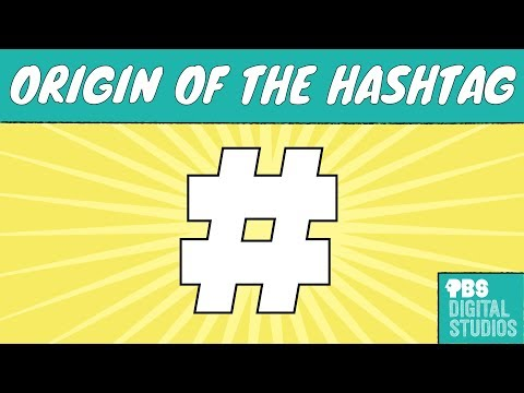 Where Does the #Hashtag Symbol Come From?