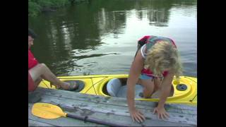 How to Climb Into a Kayak Smoothly