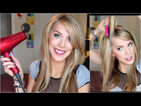 Straight Hair with Volume Tutorial (New Big Texas Hair!)