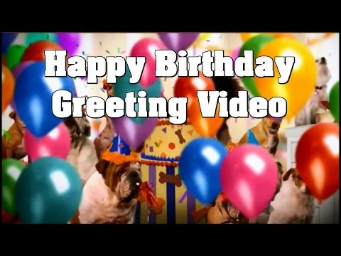 Happy Birthday Greetings Create An Incredible Video Birthday Wish To Friends and Family