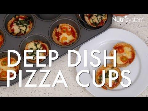 Deep Dish Pizza Cups Recipe