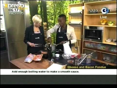Enterprise: Cheese bacon fondue (10.08.2012)