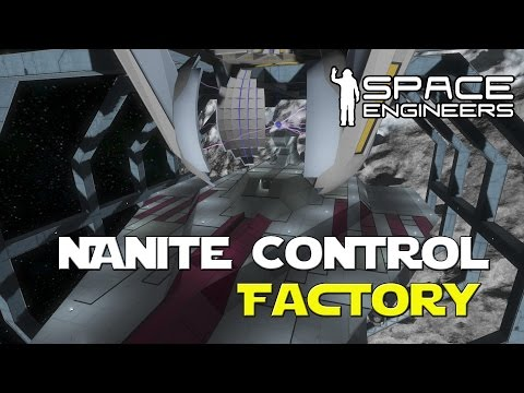 Space Engineers Mod - Nanite Repair and Construction