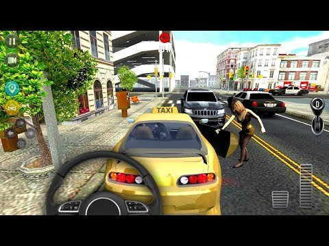 Taxi Simulator 2018 #5 - Android IOS gameplay