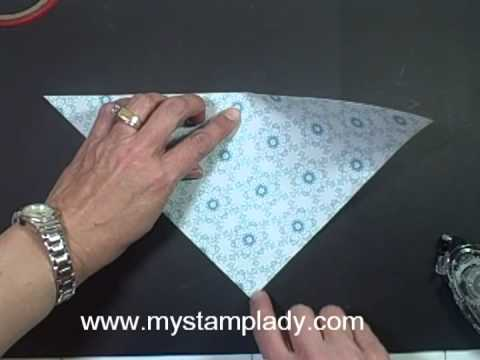 Handmade Patterned Paper cone