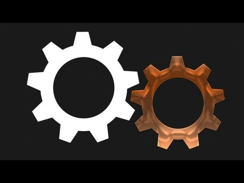 Using Transform to Create a Vector Gear in Illustrator