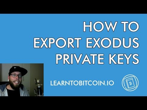 How To Export Exodus Wallet Private Keys (Quick and Easy Guide)