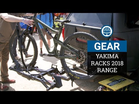 Yakima 2018 - Redesigned Racks, Tailgate Padding and New BackSwing Adaptor