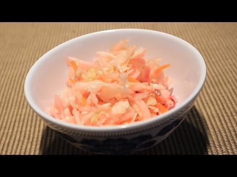Schmitt Family German Vinegar Slaw Recipe