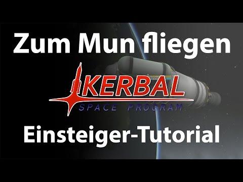 KSP Einsteiger Tutorial Career Mode #4: Zum Mun fliegen (German / deutsch)