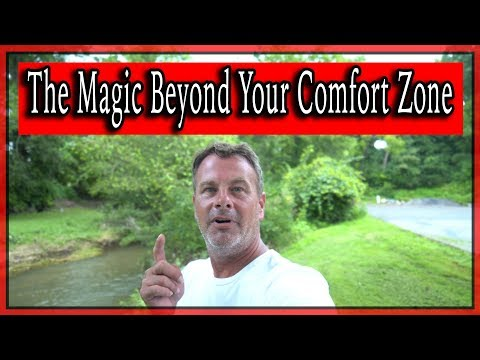 The Magic Beyond Your Comfort Zone - Plus exclusive lunchtime Dusty interview.