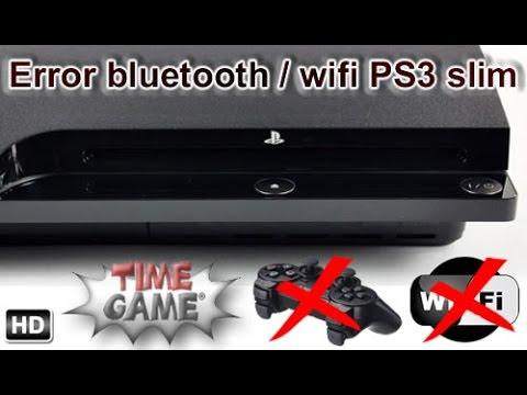 Reparar modulo bluetooth y wifi PS3 Slim / PS3 Super slim