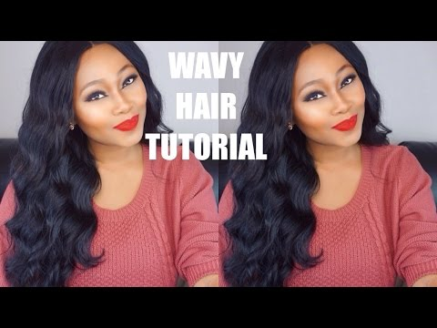Chrissy Bales || How to create Waves || Wavy Hair Tutorial