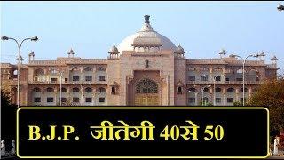 Rajasthan Samvad - B.J.P. जीतेगी 40 से  50 seat