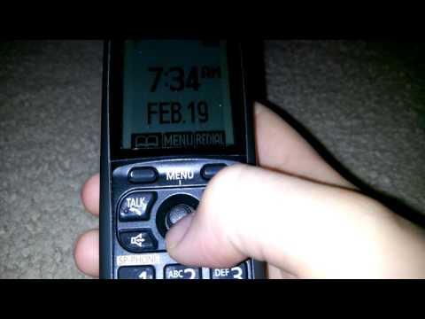 Call Blocking: Panasonic KX-TGA740