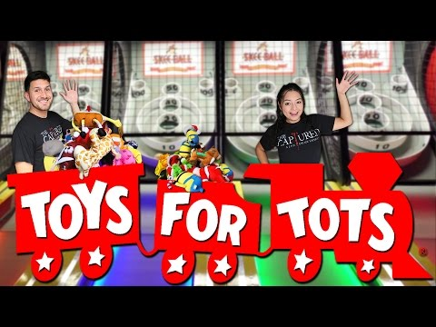 Tons of Toys for Tots!