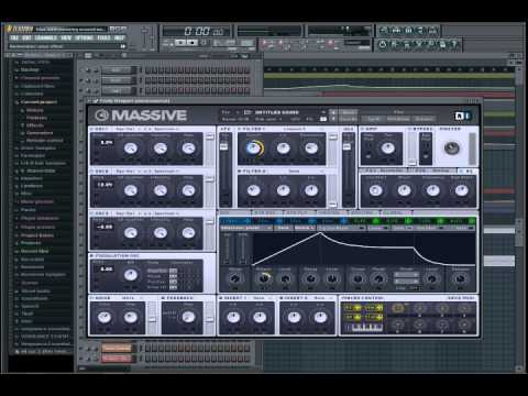 Tutorial | FL Studio |  A Plucky Uplifting Synth in Massive
