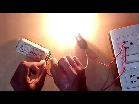 Tube Light Choke Checking   Hindi   Desi Engineeri