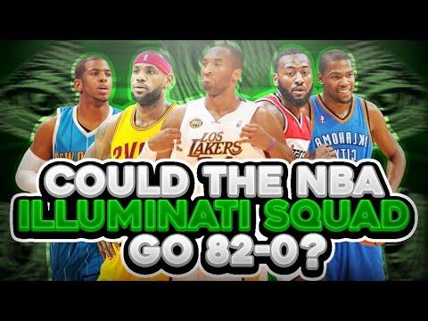 Could The NBA Illuminati Squad go 82-0?