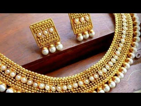 One Gram Gold Jewellery Designs That Are Trending
