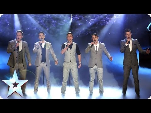 Collabro are singing Stars | Britain's Got Talent 2014 Final