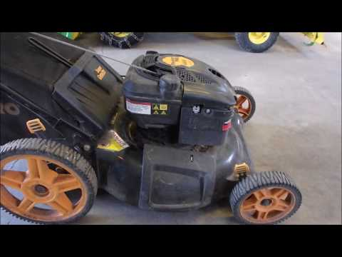 A Garden Variety Mower Tune Up (Barely)