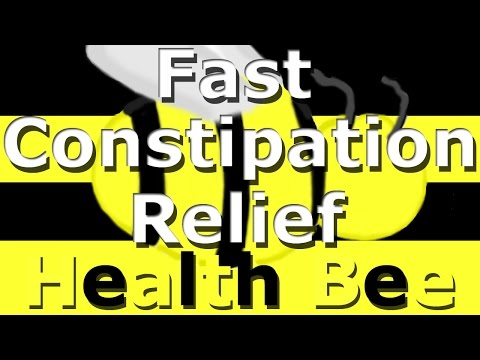 Constipation Home Remedies : Fast Constipation Relief! - Health Bee