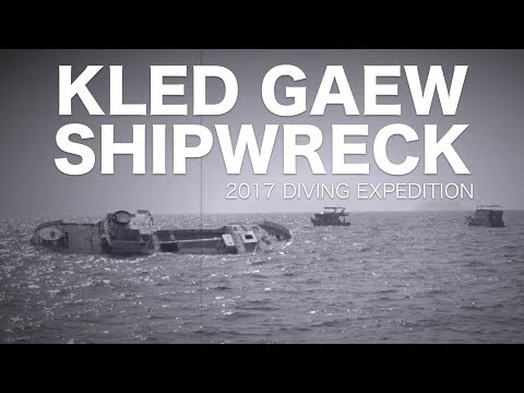 Diving the Kled Gaeow wreck in Phi Phi Island 2017 - (Klead Kleaw Wreck)