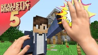 Realistic Minecraft 5 ~ Good Friends and Griefers!