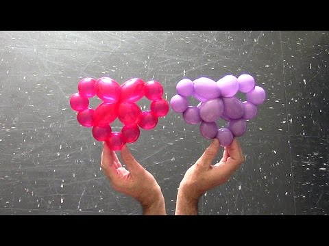 One balloon heart