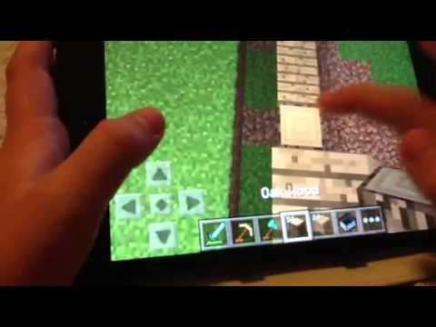 How to build a wooden house in minecraft pe part 1
