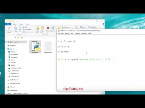 How to Open Read and Close Files in Python In Text Mode