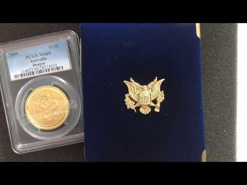 First 1 oz Gold Coin