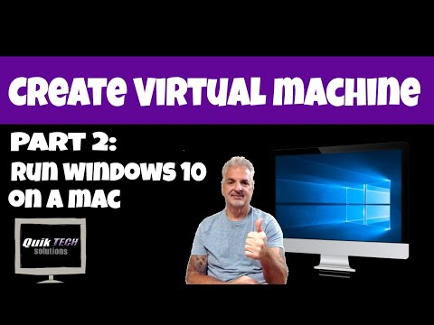 Part 2 - How To Run Windows 10 On A Mac