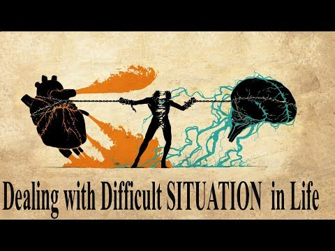 Dealing with Difficult SITUATION  in Life in hindi