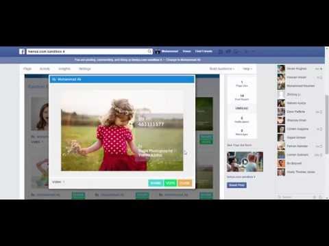 Facebook Photo Contest App Demo