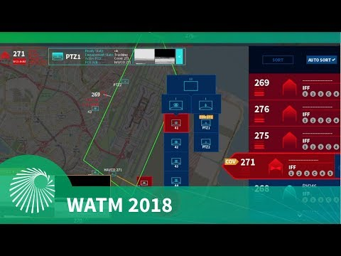 WATM 2018: Rheinmetall Defence Airport Drone Defence Concept