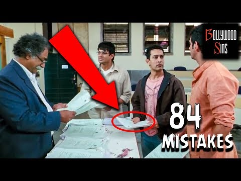 [PWW] Plenty Wrong With 3 IDIOTS (84 MISTAKES) Full Movie | Aamir Khan | Bollywood Sins #18