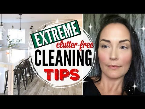 A NEW TYPE OF CLEAN WITH ME ● EXTREME CLUTTER FREE CLEANING HACKS, TIPS + COACHING ● INTENTIONALISM