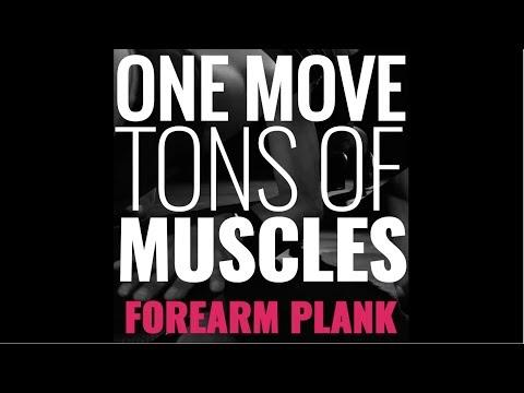 One Move, Many Muscles: Forearm Plank | SHAPE