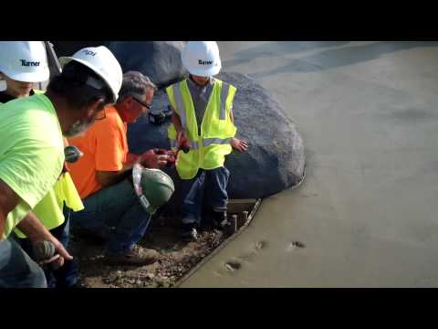 Summit Park Concrete Stamping