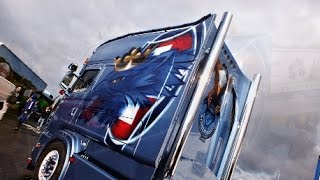 Sneepels Scania Longline with Strong V8 sound and interior