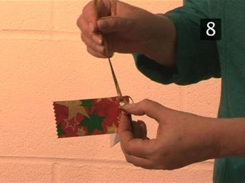 How To Create A Gift Tag Using Wrapping Paper